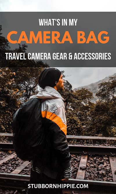 What's In My Camera Bag: My Travel Camera Gear & Accessories